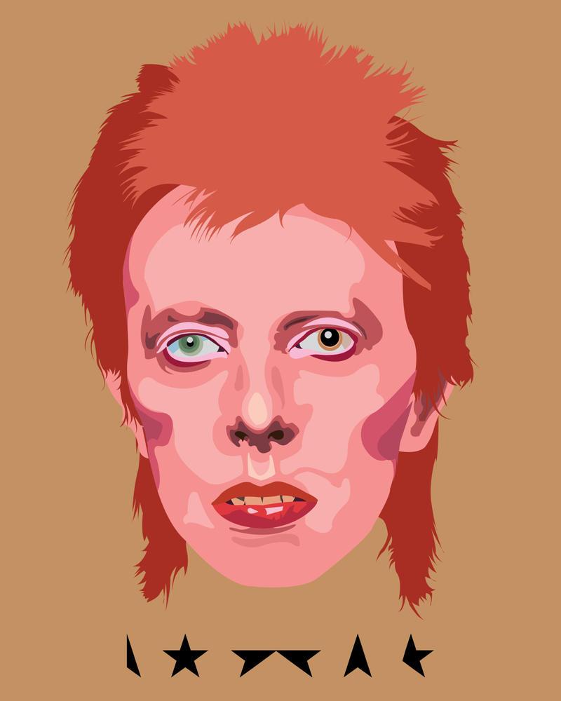 Bowie by JaidenIV