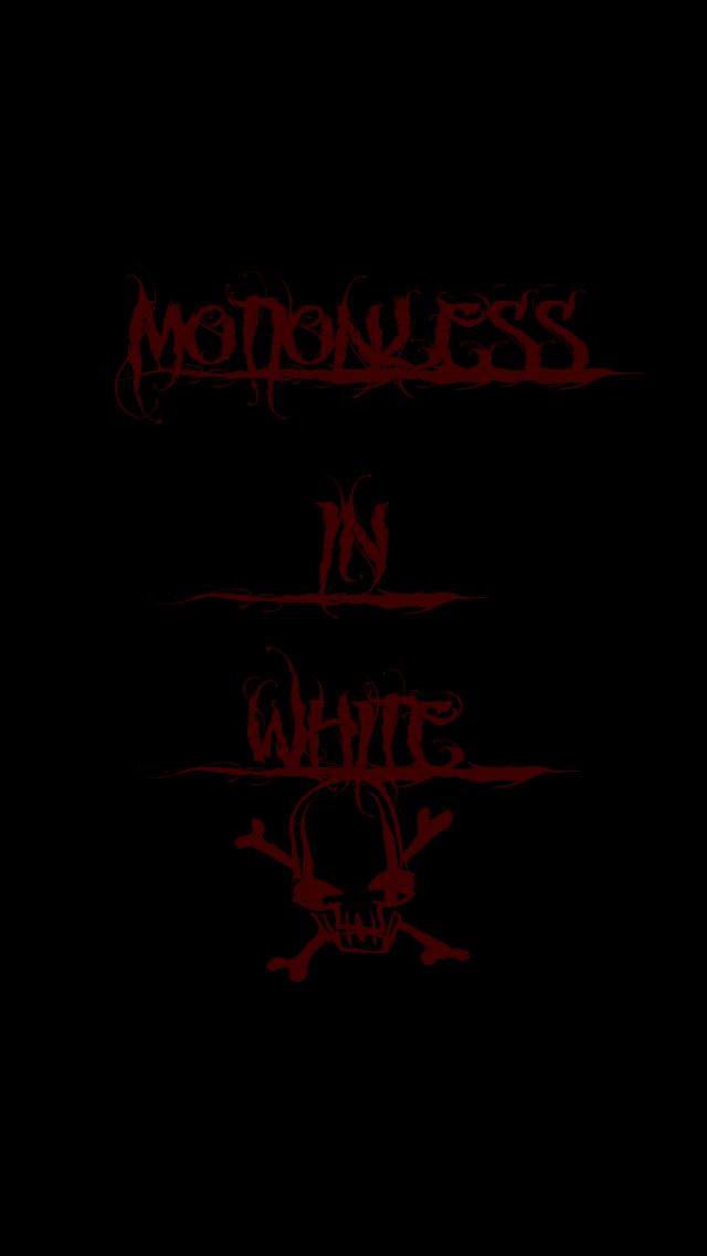 gallery for motionless in white iphone wallpaper