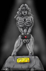 Statue of Wonderwoman by buronzu