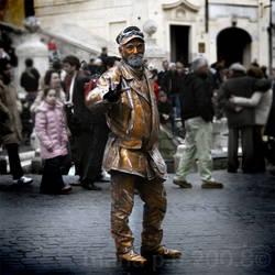 piazza di spagna. by mute-nOface
