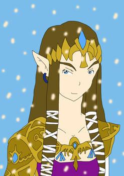 Zelda fanservice calendar December Zelda
