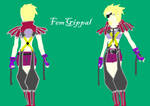 Female Gippal template