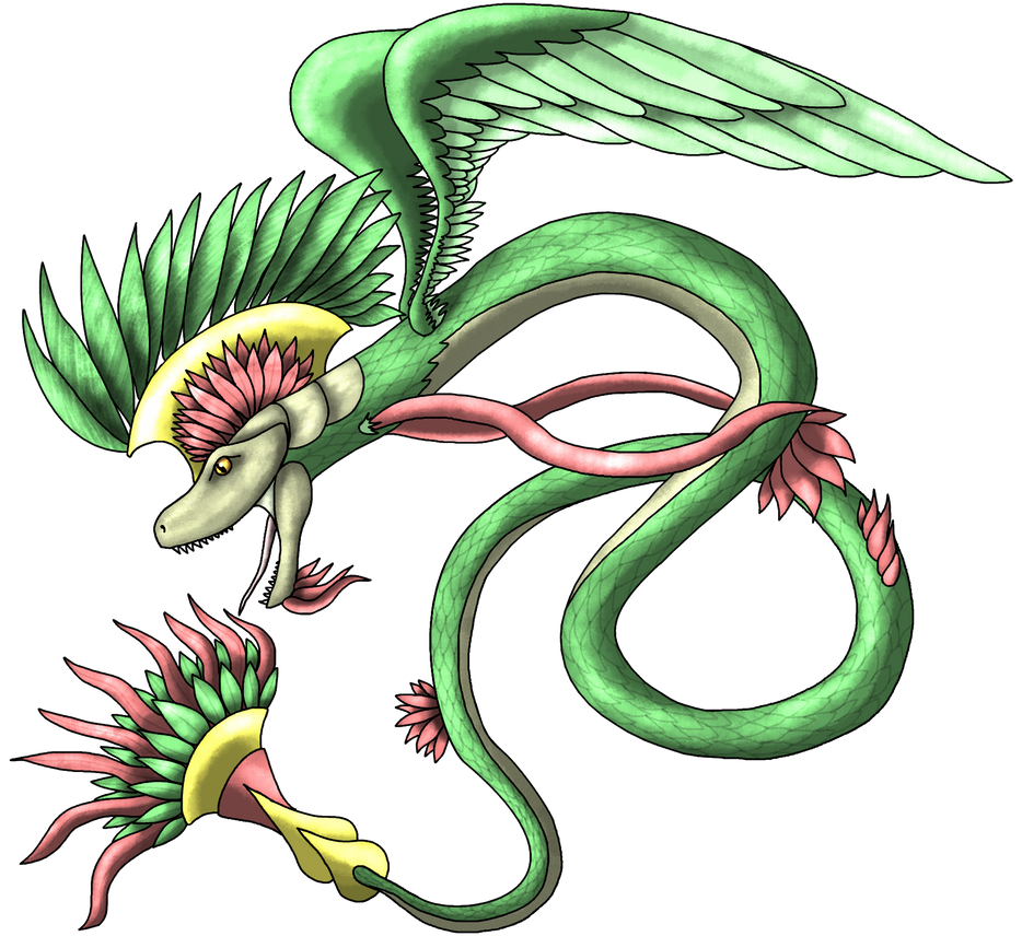 Quetzalcoatl by ThunderousAbsurdity