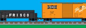 Lionel Fallen Flags - Frisco WIP