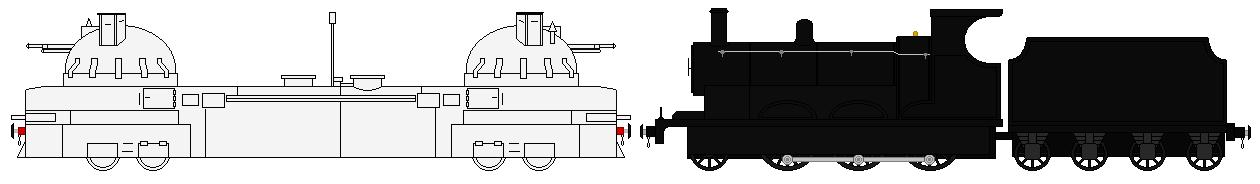 WW1 Armored Train ''Zaamurets'' Pack by TNO-794