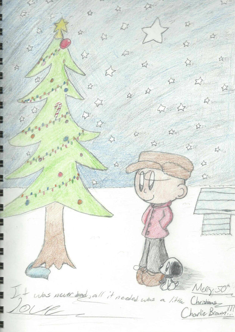 Merry 50th Christmas Charlie Brown !!! by MamaLuigi145 on DeviantArt