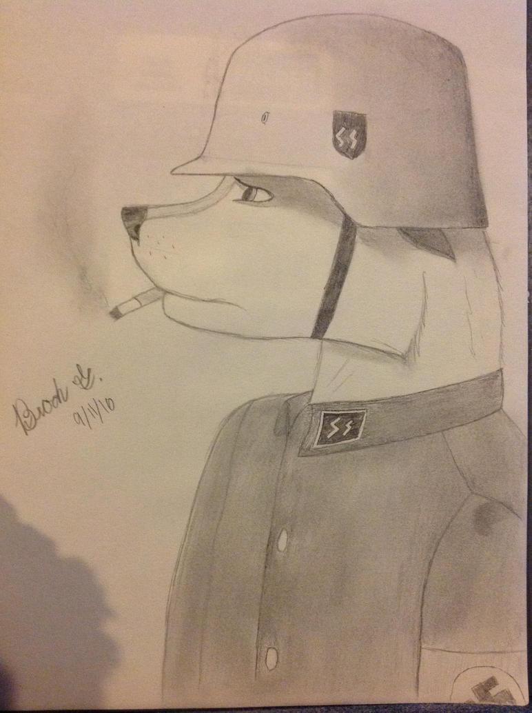 Nazi furry by BuckshotBrock