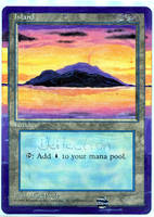 Altered MtG - Island by mmmedo