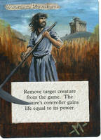 MTG alter-Swords to Plowshares by mmmedo