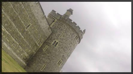 Part of Windsor Castle by mmmedo