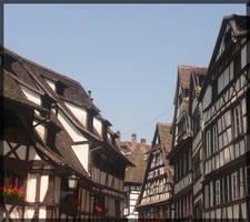 Streets in Strasbourg by mmmedo