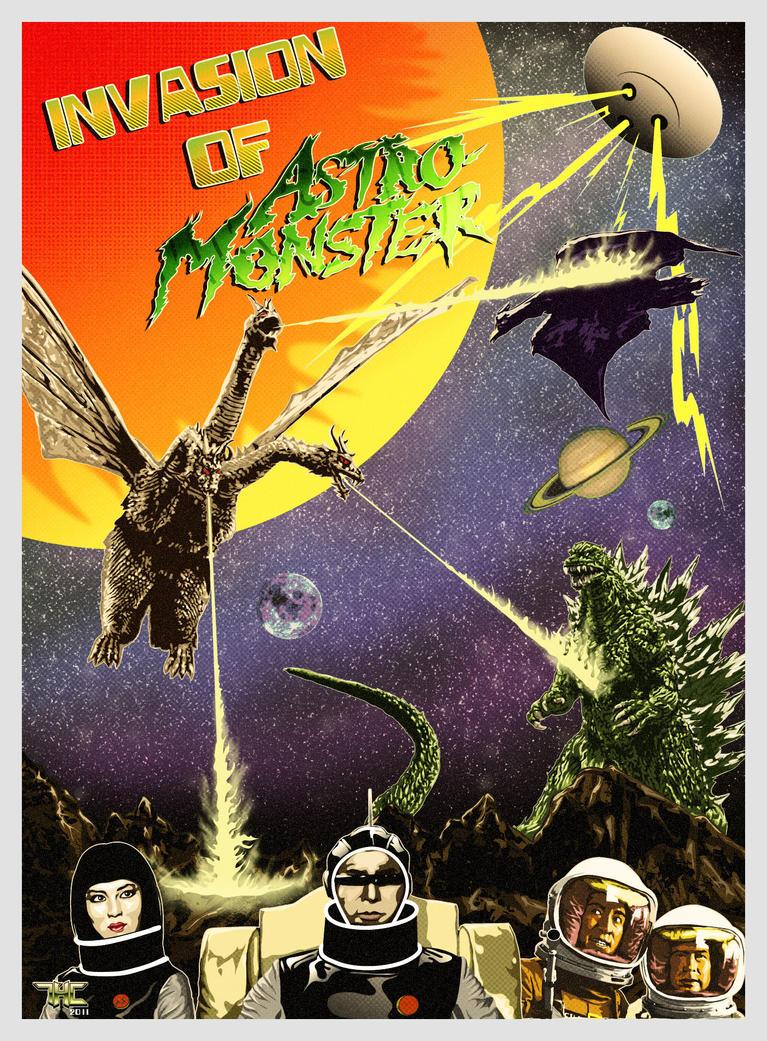 Invasion of Astro-Monster Invasion of AstroMonster by heathdro on DeviantArt