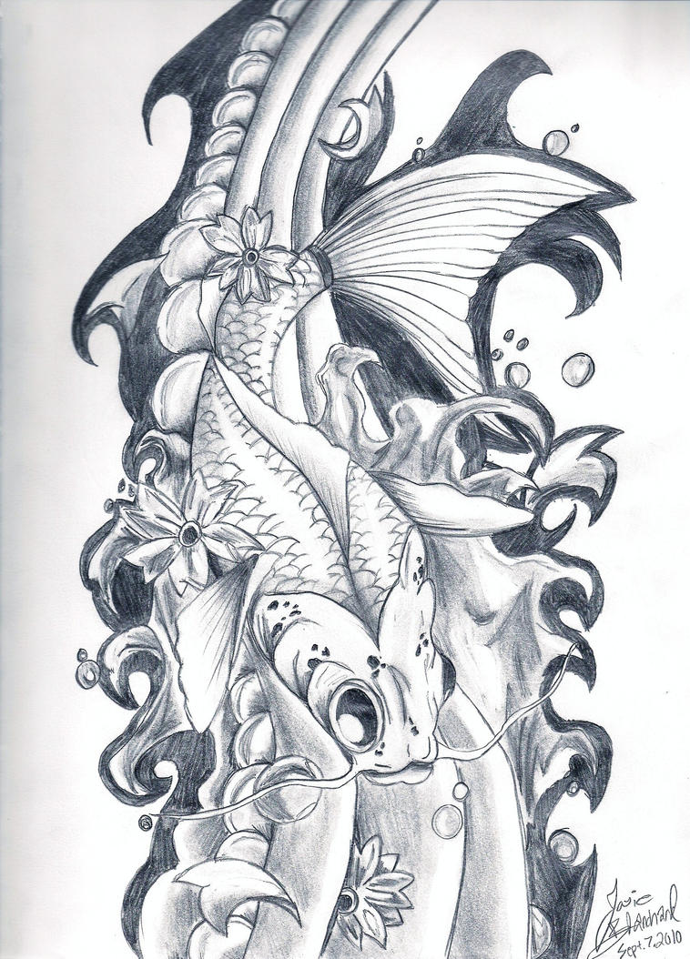 Image Result For Printable Coy Fish