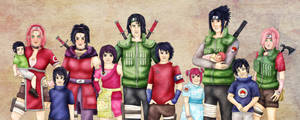 Uchiha Family - Naruto