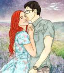 Harry and Ginny by x8xdanix6x