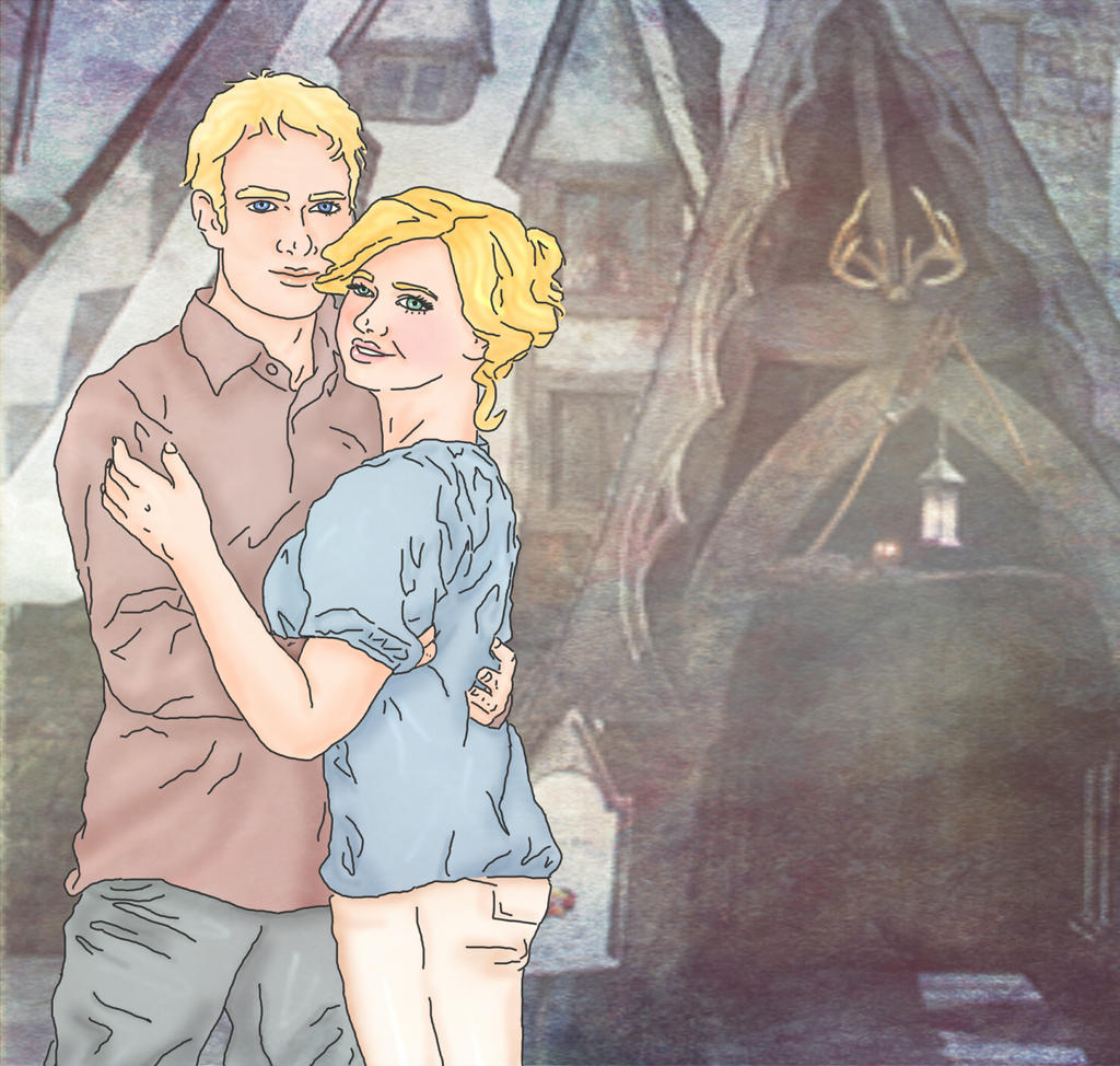Neville and Hannah by x8xdanix6x