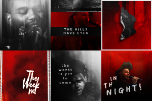 The Weeknd Icons by cartooneyes