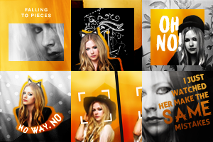 Avril Lavigne Icons by cartooneyes