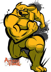 Strong Jake by yubigd