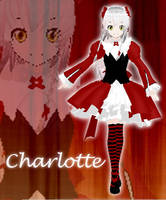 MMD Charlotte +Finished++edit+ by Your-friend-Sushi