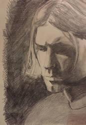Kurt Cobain portrait by Kiwivett