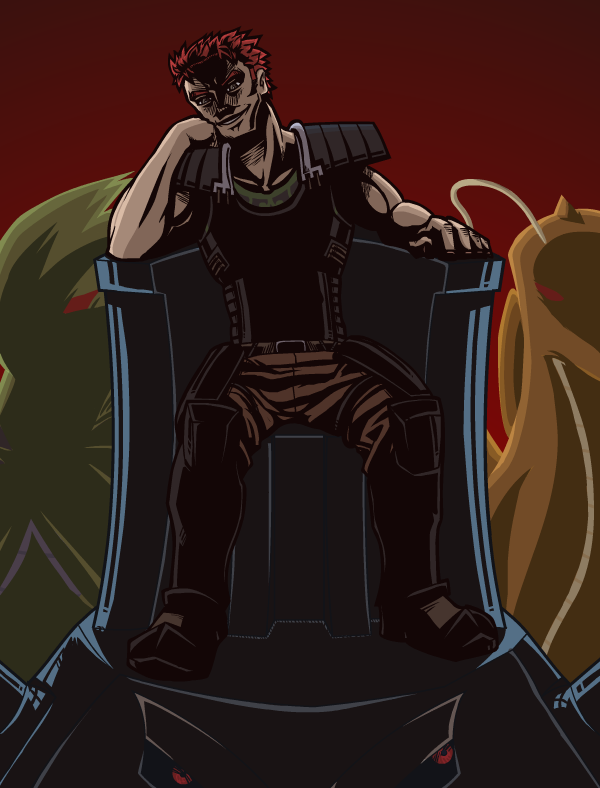 COMMISSION: The Evil King By Pitch-Black-Nuzlocke On