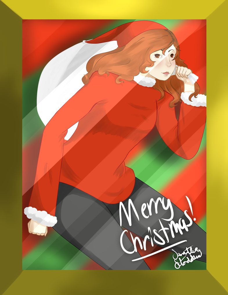 Ginger Claus by tdgART