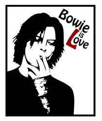 David Bowie by Maddithong