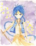 Magi: Aladdin Watercolour by Tiha90