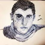 Repeated Mark Self Portrait