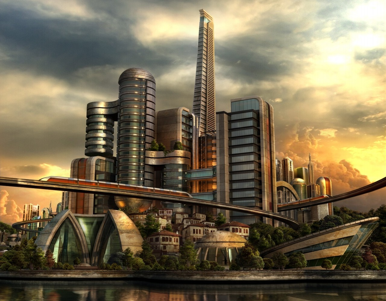 The City Of Future By ~e-designer