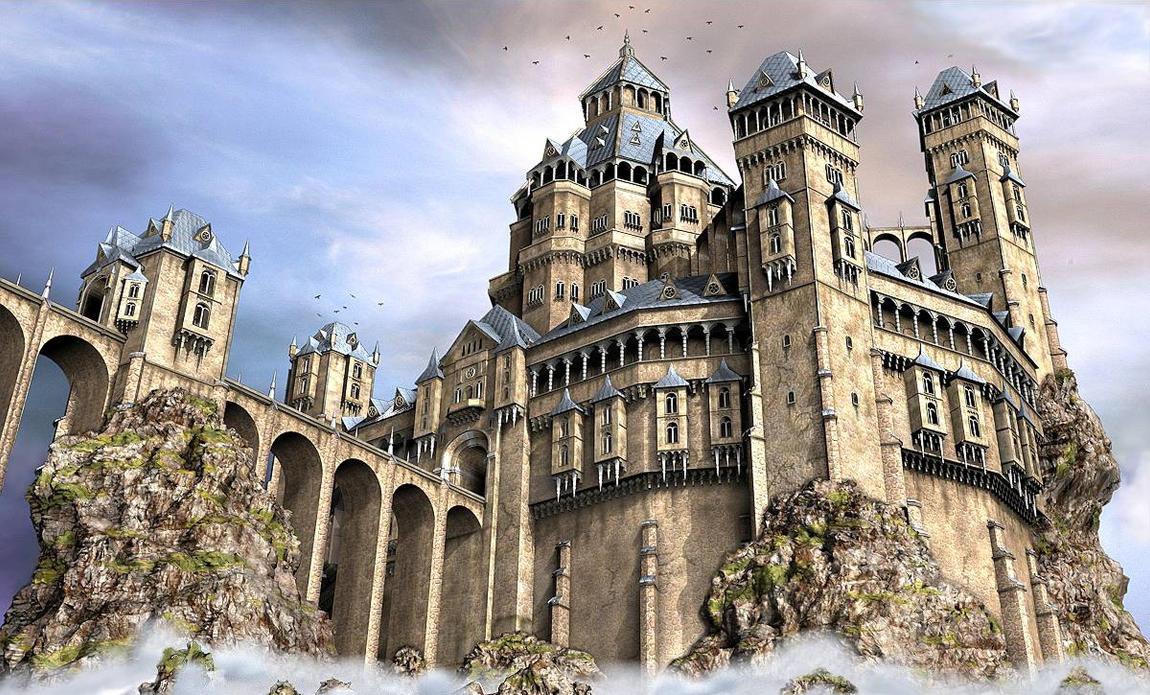 The Old Castle by e-designer