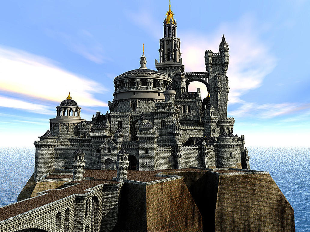 Fantasy castle by e designer on deviantart for Castle design