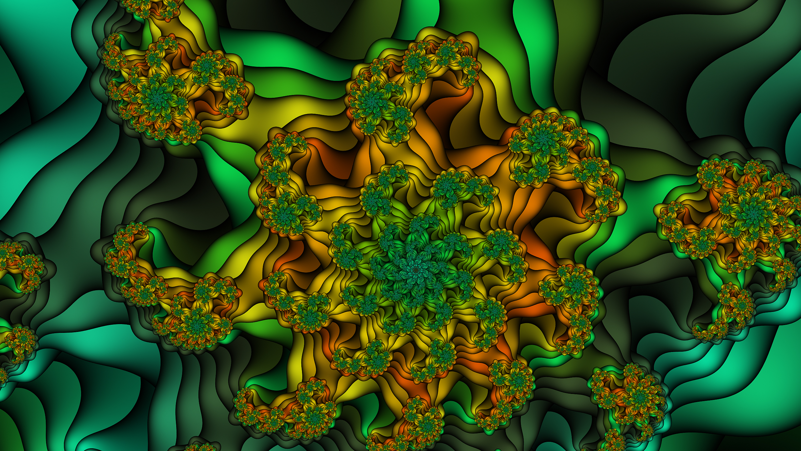 top fractal wallpapers floral - photo #20