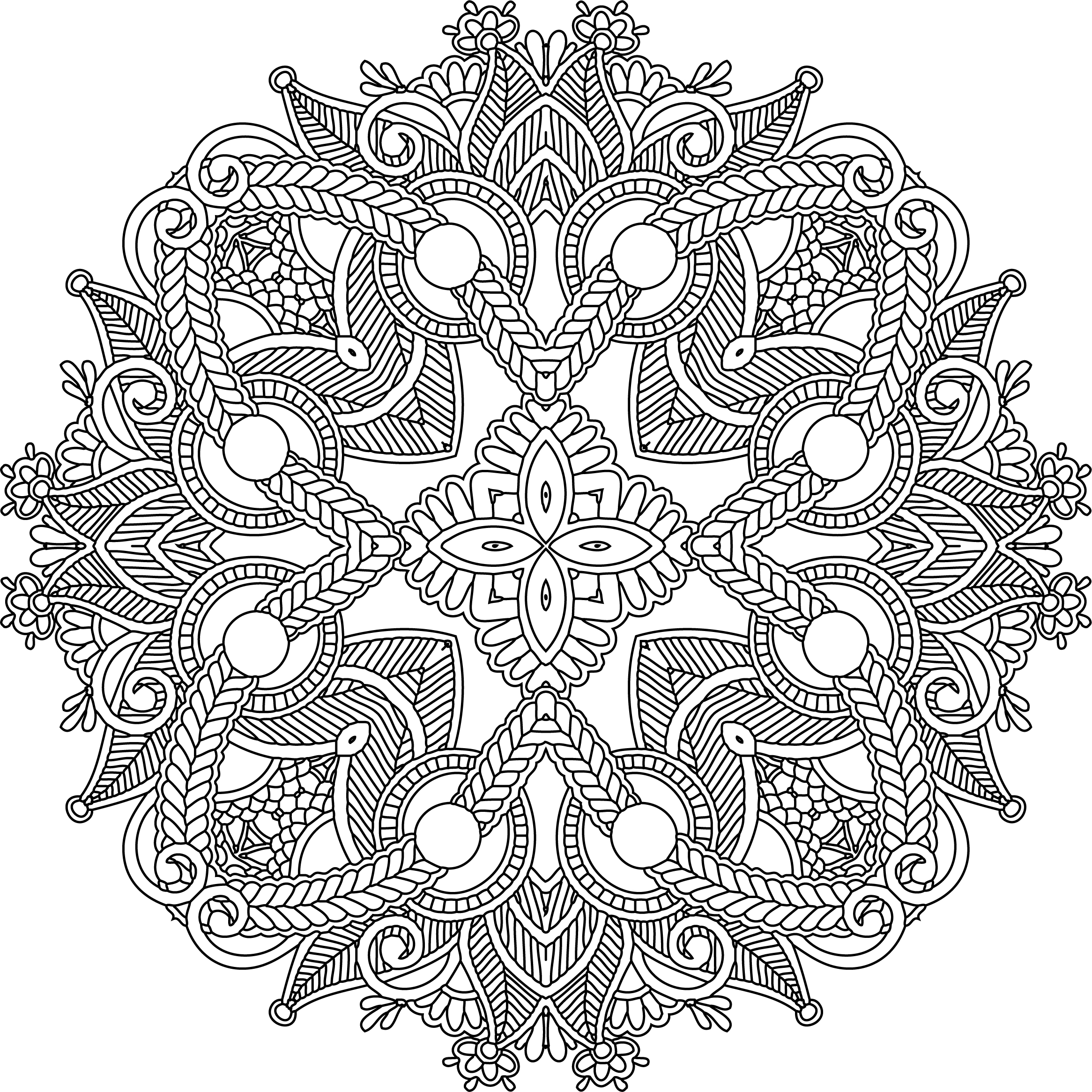 Line Drawing Mandala : Line art mandala by e designer on deviantart
