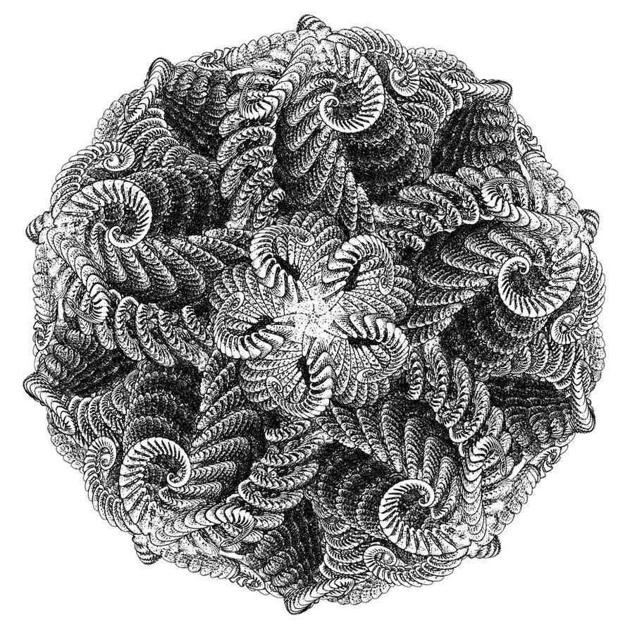 Escher style mandala by e-designer