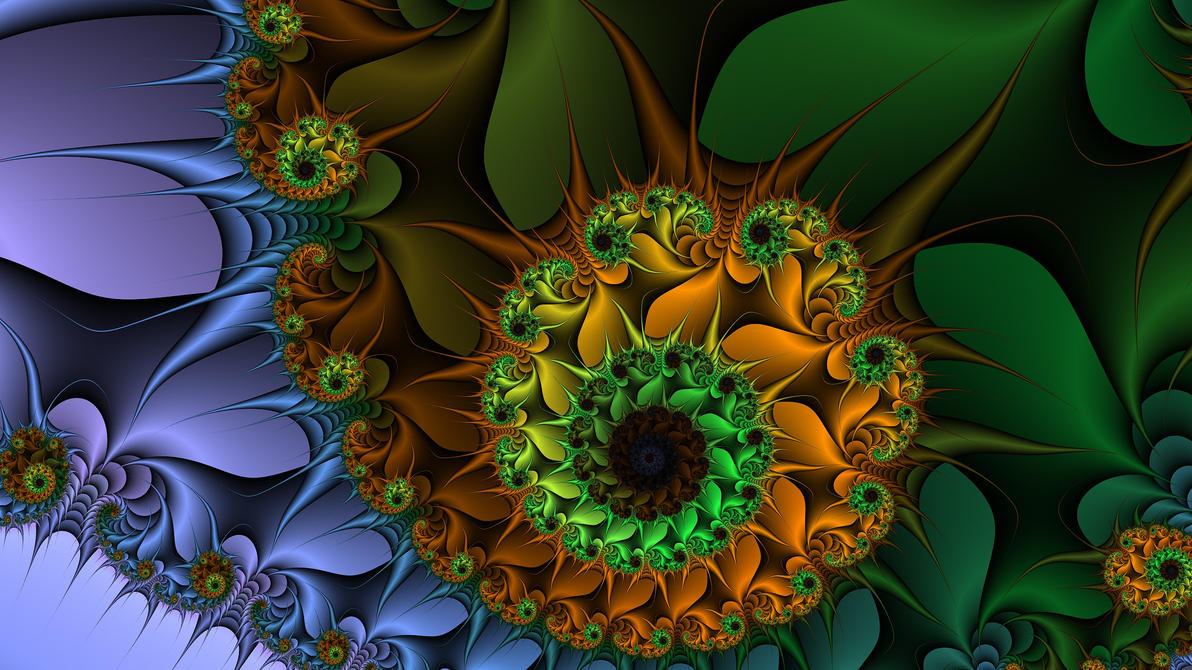 Colorful fractal by e-designer