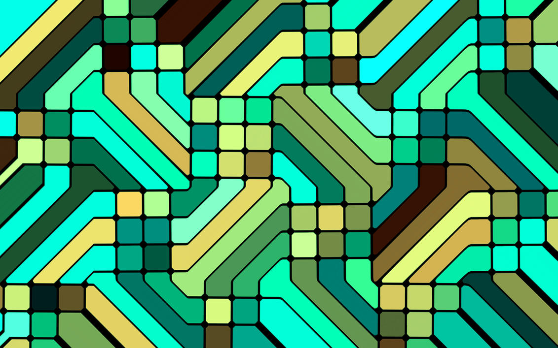 Abstract mosaic 2 by e-designer