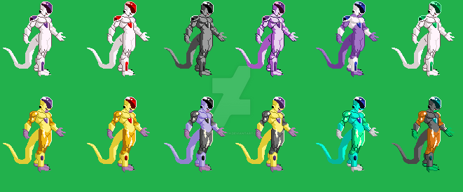 dragon ball fighter z Freezer by monsterjecth