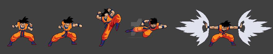 Goku's Attacks First Impression