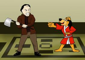 J.Torrance vs Hong Kong Phooey by torquesmacky