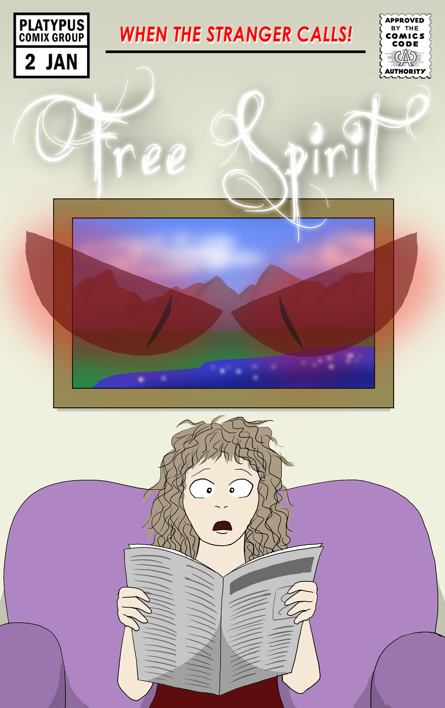 Free Spirit Cover #2 by torquesmacky