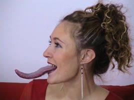 Long Tongue Girl 23 by TongueRat