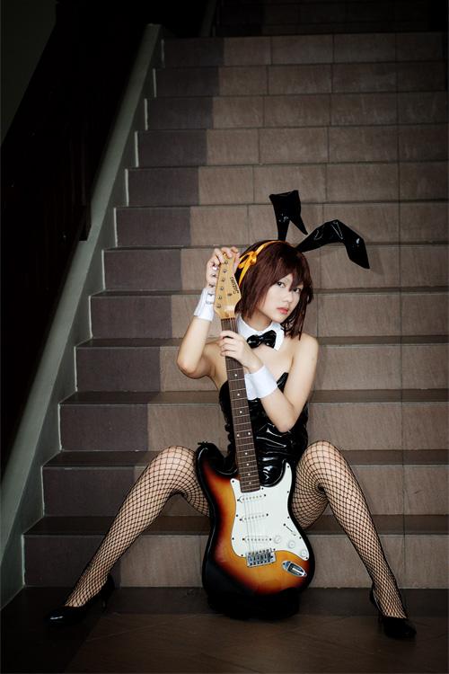 [Cosfest VI] Bunny Haruhi by rosukuma