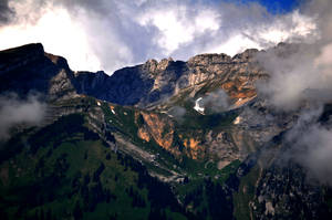 Swiss Mountains by Zoonyx