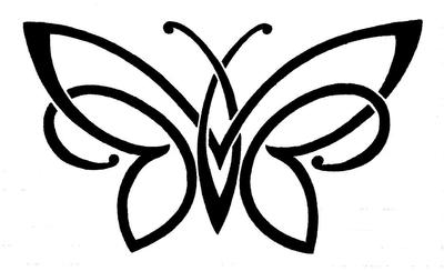 Celtic Butterfly Tattoo by My-Last-Duchess
