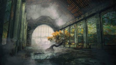 Sacred tree by AlrunPremier