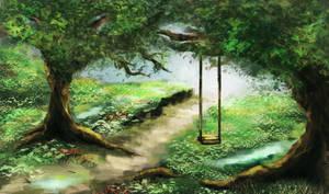 The verdant way by AlrunPremier