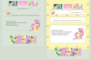 Fluttershy   F2U Core/Non Core Code by qhost-town