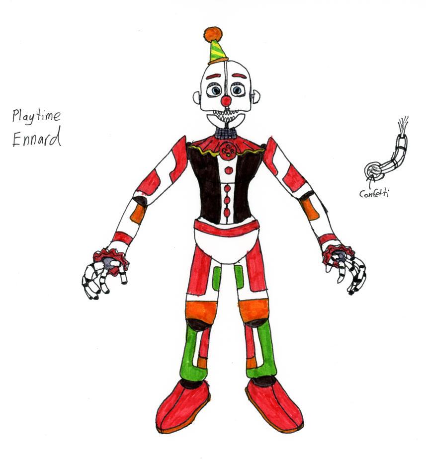 Playtime Ennard By JustaRandomGourgeist On DeviantArt